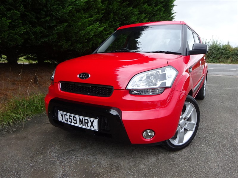 used Kia Soul Samba (125bhp) in herefordshire-for-sale