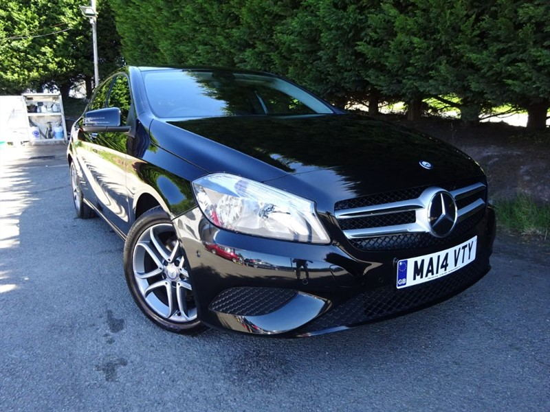 used Mercedes A180 CDI Blue-Efficiency Sport (110bhp) in herefordshire-for-sale