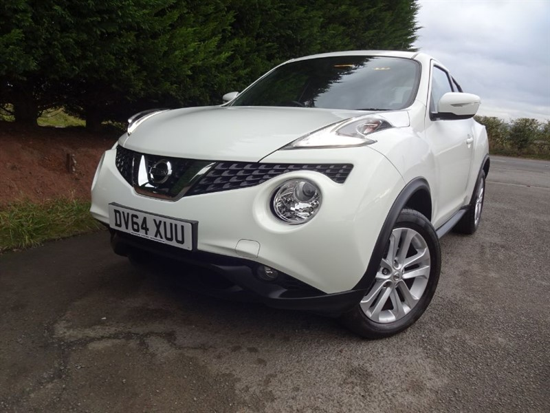 used Nissan Juke DCI Acenta Premium (110bhp) in herefordshire-for-sale