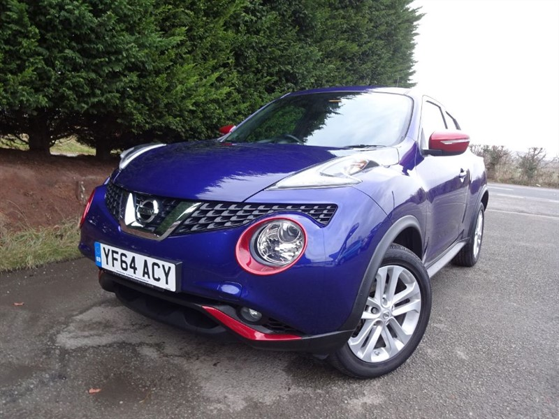 used Nissan Juke DIG-T Acenta Premium (115bhp) in herefordshire-for-sale