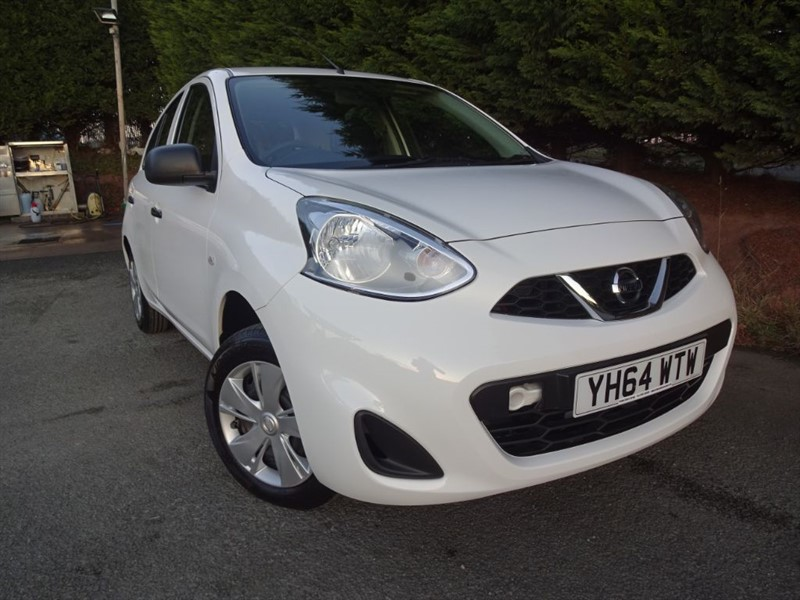 used Nissan Micra Visia (80bhp) in herefordshire-for-sale
