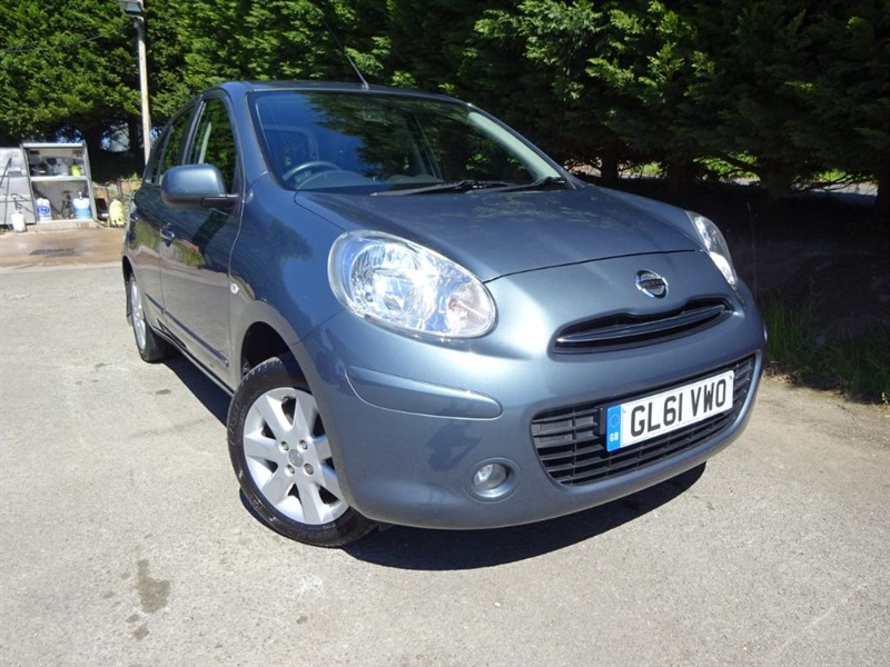used Nissan Micra Acenta (80bhp) in herefordshire-for-sale