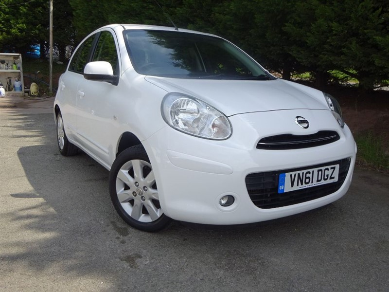 used Nissan Micra Acenta DIG-S (NAV) (100bhp) in herefordshire-for-sale