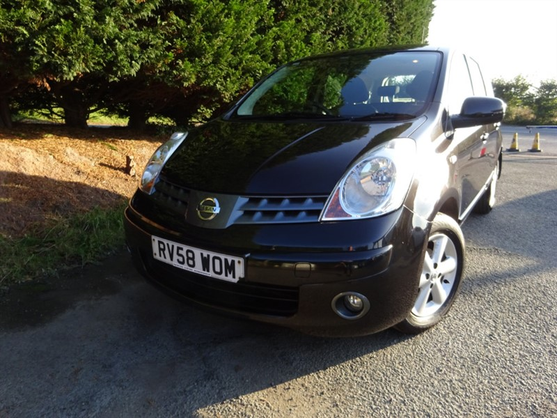 used Nissan Note Acenta (87bhp) in herefordshire-for-sale