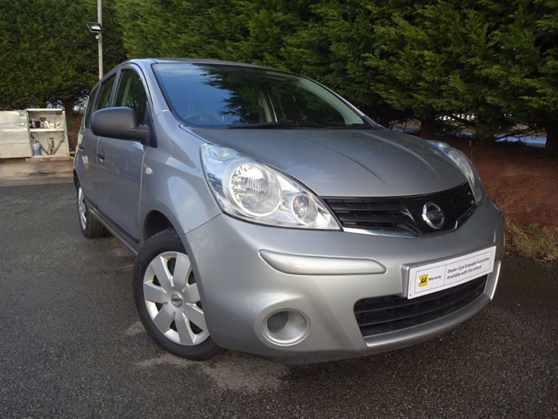 used Nissan Note DCI Visia (90hp) in herefordshire-for-sale
