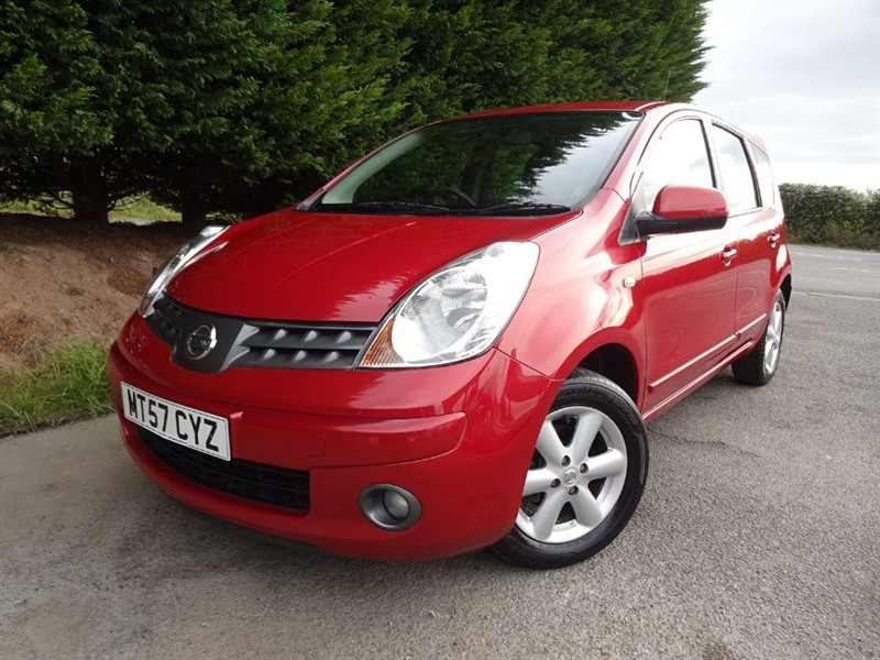 used Nissan Note Acenta (110bhp) in herefordshire-for-sale