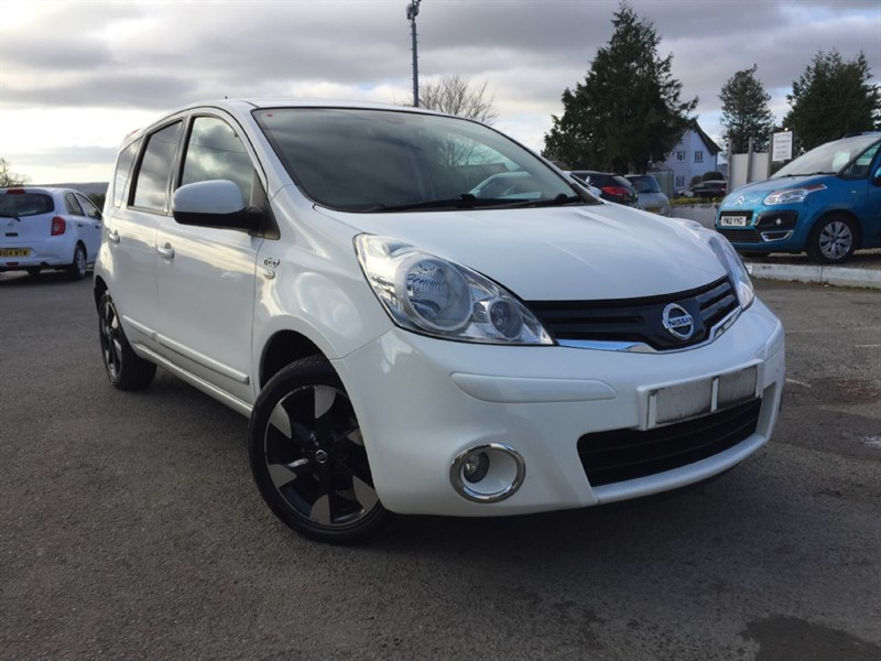 used Nissan Note N-TEC PLUS in herefordshire-for-sale