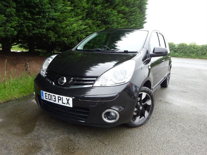 used Nissan Note N-Tec Plus (110bhp) in herefordshire-for-sale