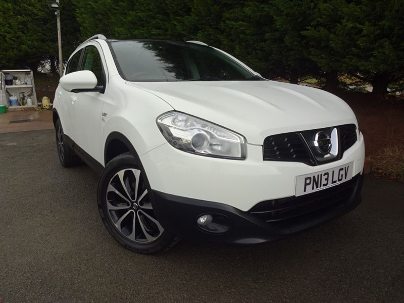 used Nissan Qashqai DCI N-Tec Plus (4x4) (130bhp) in herefordshire-for-sale