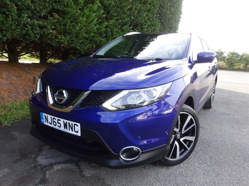 used Nissan Qashqai DCI TEKNA in herefordshire-for-sale