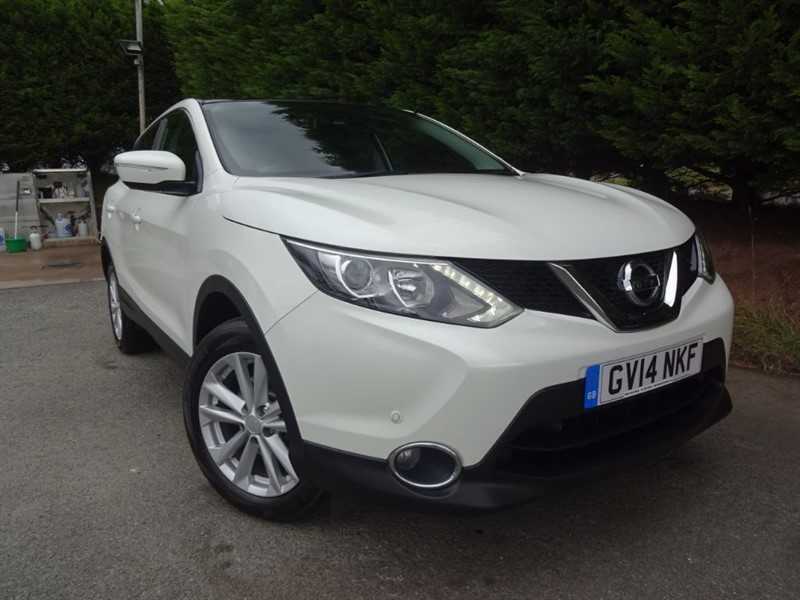 used Nissan Qashqai DCI Acenta Premium (110bhp) in herefordshire-for-sale