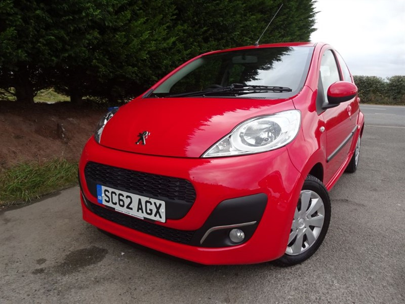 used Peugeot 107 Active (68bhp) in herefordshire-for-sale