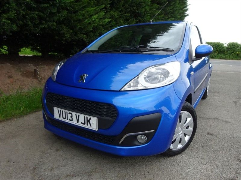 used Peugeot 107 Active (70bhp) in herefordshire-for-sale