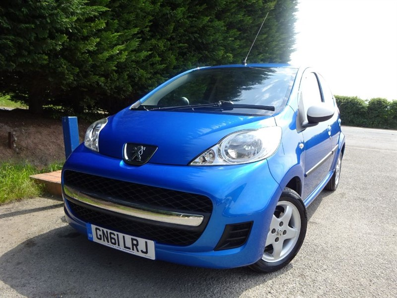 used Peugeot 107 Sportium (68bhp) in herefordshire-for-sale