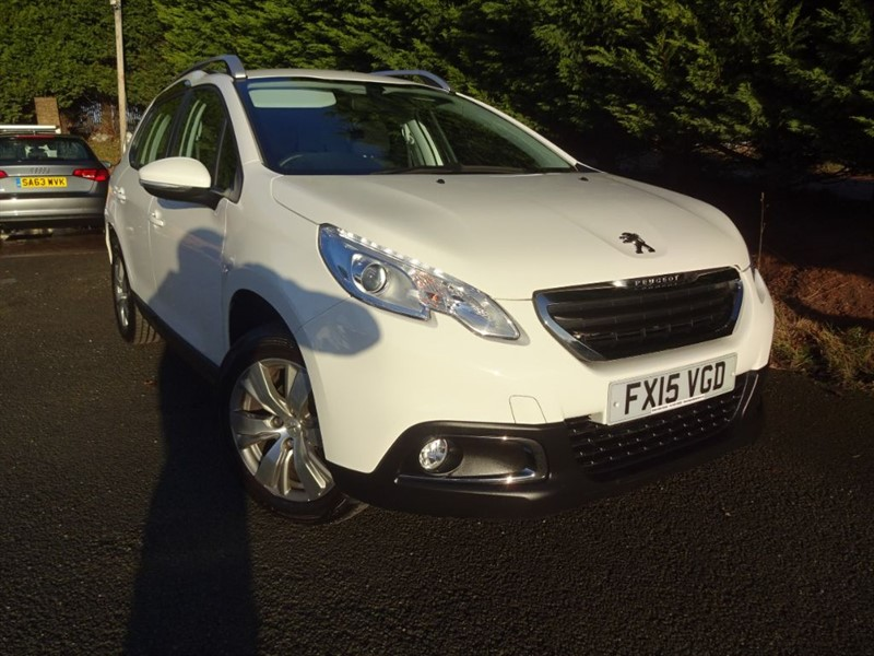 used Peugeot 2008 HDI Active (90bhp) in herefordshire-for-sale