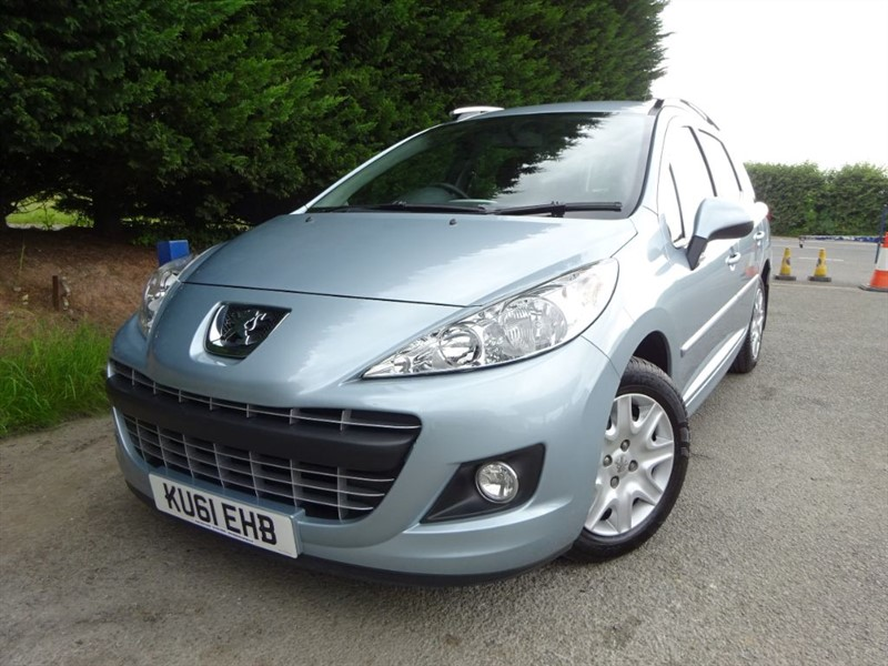 used Peugeot 207 SW HDI Active (Estate) (90bhp) in herefordshire-for-sale