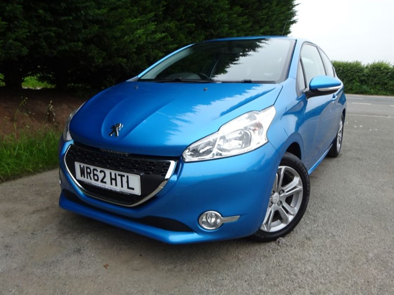 used Peugeot 208 Active (82bhp) in herefordshire-for-sale