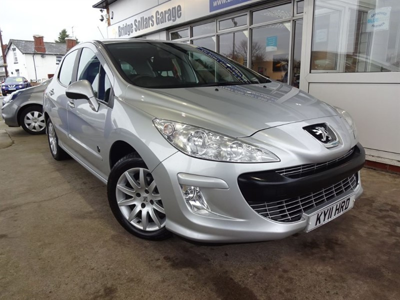 used Peugeot 308 Envy (100bhp) in herefordshire-for-sale
