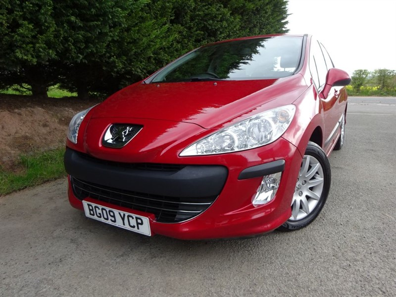 used Peugeot 308 Verve (95bhp) in herefordshire-for-sale