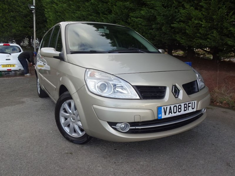 used Renault Grand Scenic DCI Dynamique (Automatic) (130bhp) in herefordshire-for-sale