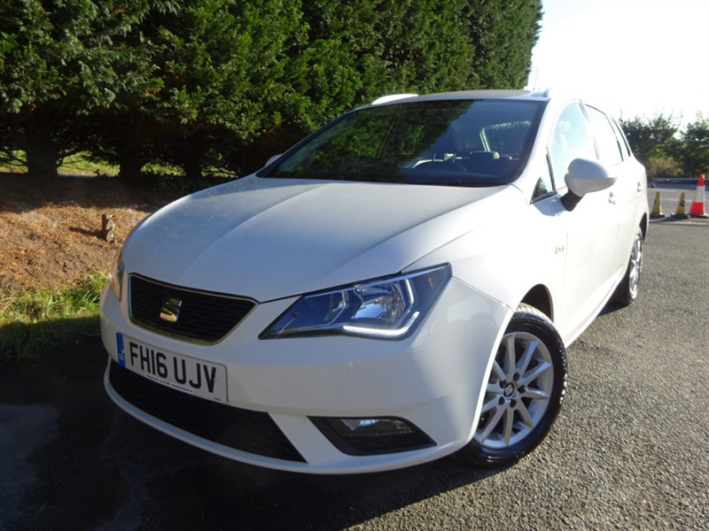 used SEAT Ibiza TDI SE (75bhp) (Estate) in herefordshire-for-sale