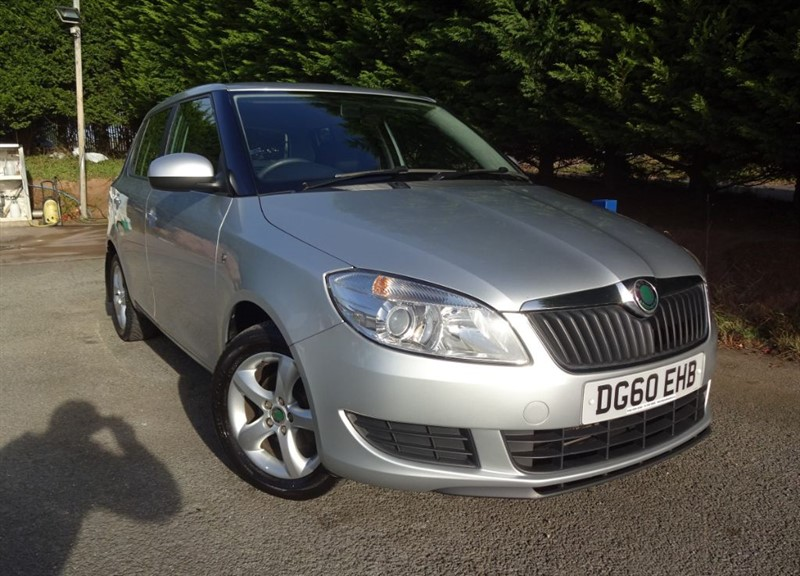 used Skoda Fabia TDI SE (90bhp) in herefordshire-for-sale