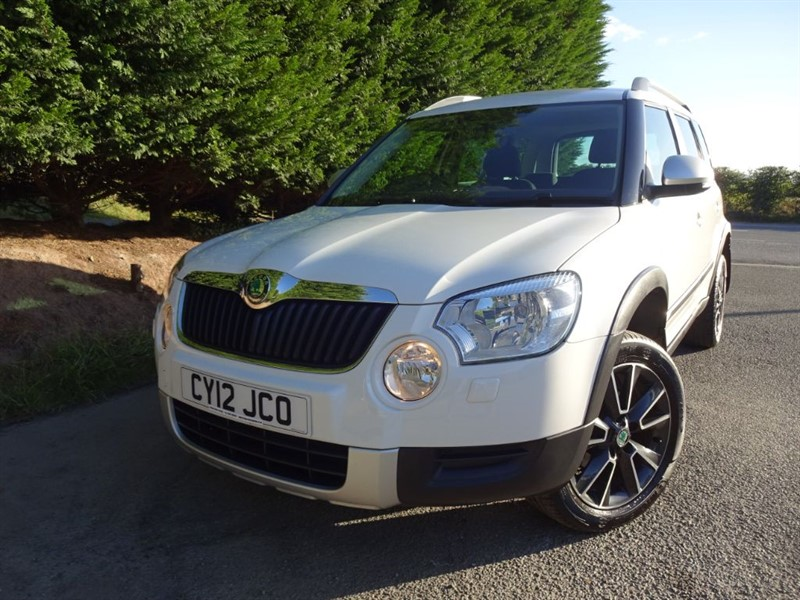 used Skoda Yeti TDI Urban (110bhp) (2WD) in herefordshire-for-sale