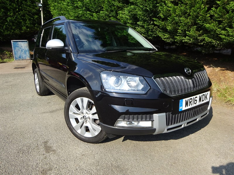 used Skoda Yeti TDI Outdoor SEL 4-Motion (110bhp) (AWD) in herefordshire-for-sale