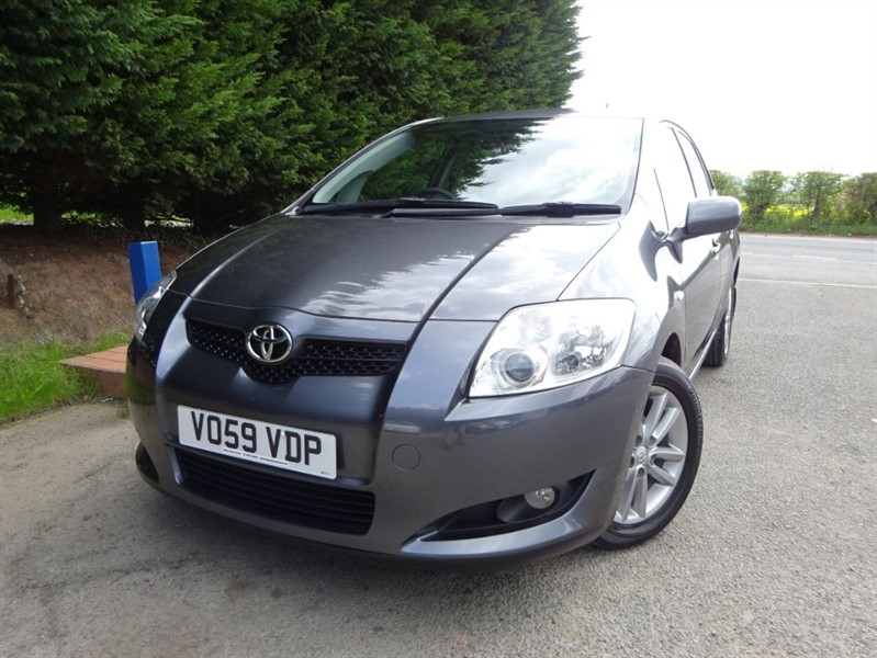 used Toyota Auris TR D-4D (90bhp) in herefordshire-for-sale