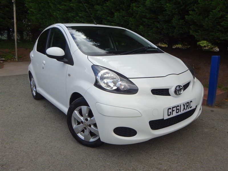 used Toyota Aygo VVT-I GO (67bhp) in herefordshire-for-sale
