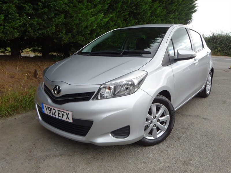 used Toyota Yaris D-4D TR (90bhp) in herefordshire-for-sale