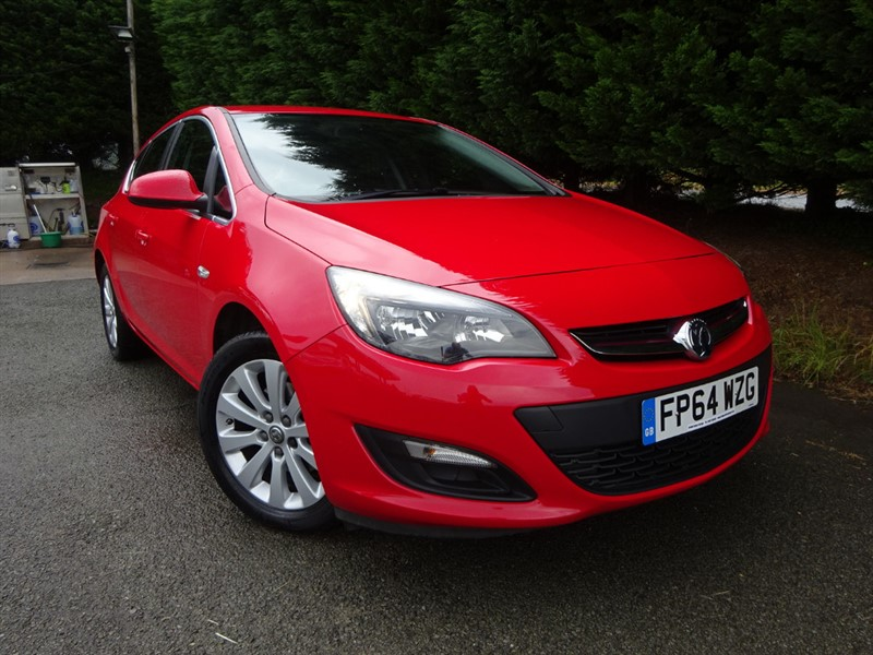 used Vauxhall Astra CDTI ECOFlex Tech-Line (134bhp) in herefordshire-for-sale