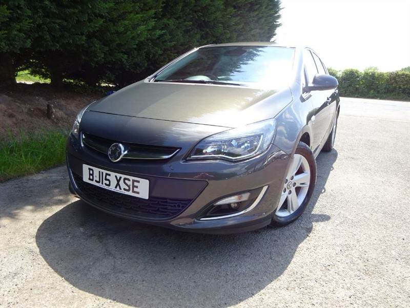 used Vauxhall Astra SRI CDTI ECOFLEX S/S in herefordshire-for-sale