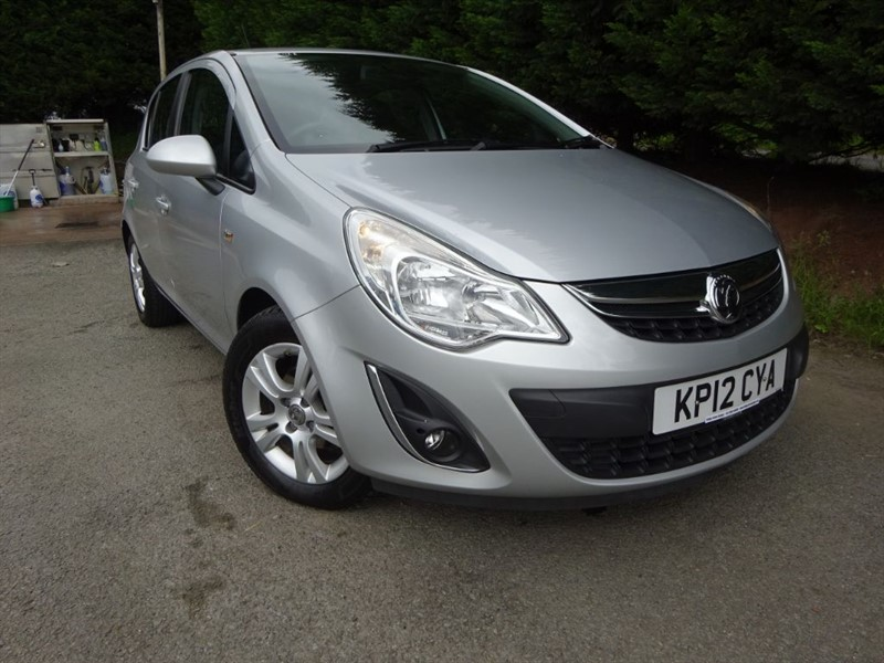 used Vauxhall Corsa CDTI ECOFlex Exclusiv (75bhp) in herefordshire-for-sale