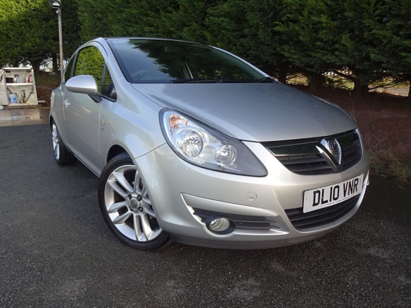 used Vauxhall Corsa SXI (85bhp) in herefordshire-for-sale