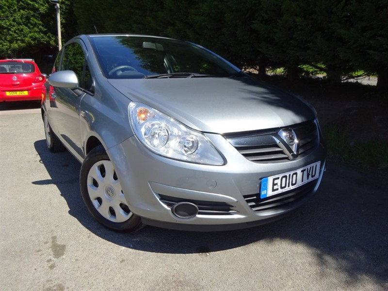 used Vauxhall Corsa Exclusiv (A/C) (85bhp) in herefordshire-for-sale