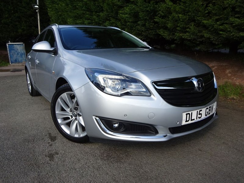used Vauxhall Insignia CDTI ECOFlex SRI NAV (Estate) (140bhp)  in herefordshire-for-sale