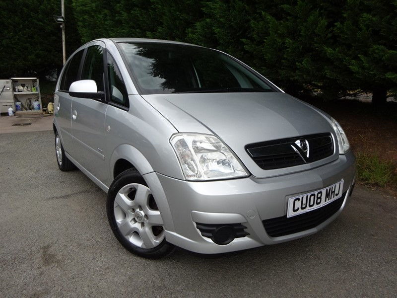 used Vauxhall Meriva Breeze 16V (90bhp) in herefordshire-for-sale