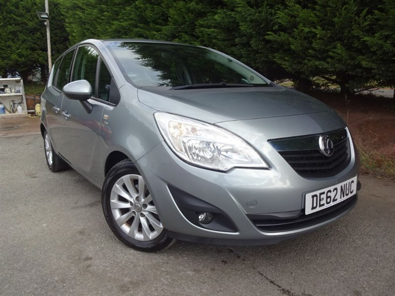 used Vauxhall Meriva Active (100bhp) in herefordshire-for-sale