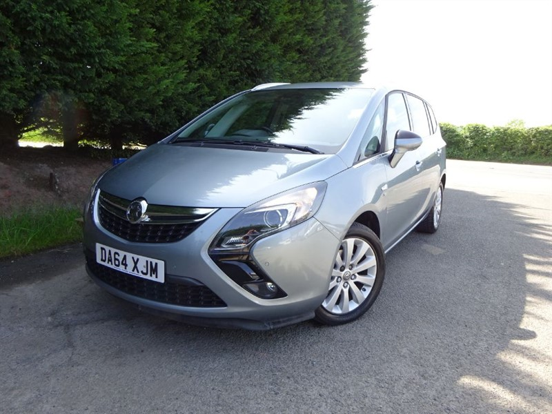 used Vauxhall Zafira Tourer CDTI SE (130bhp) in herefordshire-for-sale