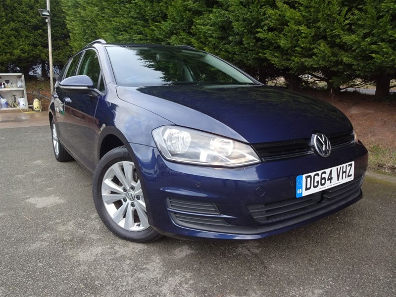 used VW Golf TDI SE Bluemotion-Tech (Estate) (105bhp) in herefordshire-for-sale