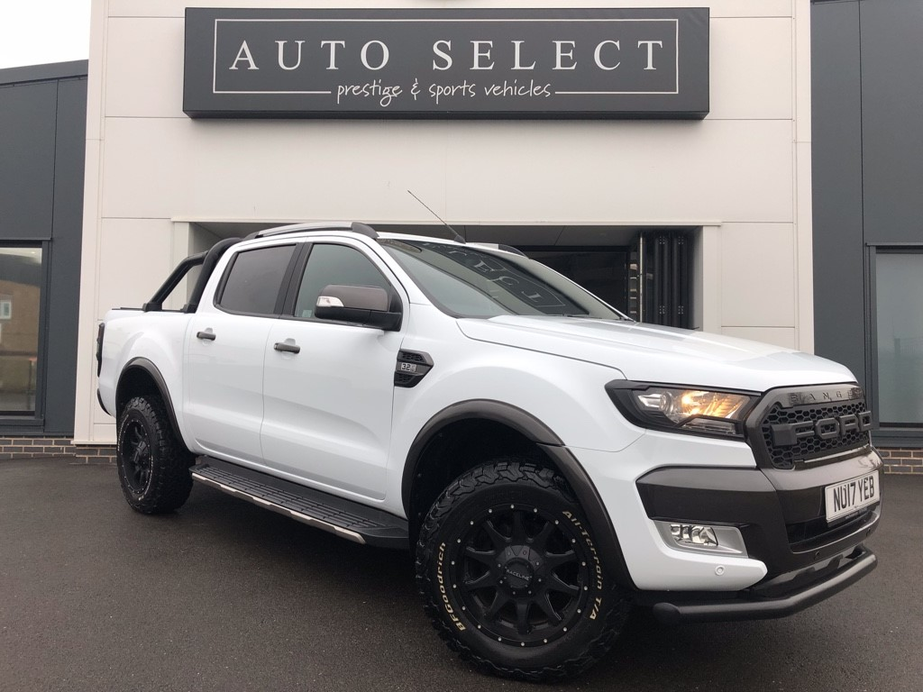 Used Frozen White With Loads Of Extras Ford Ranger For Sale