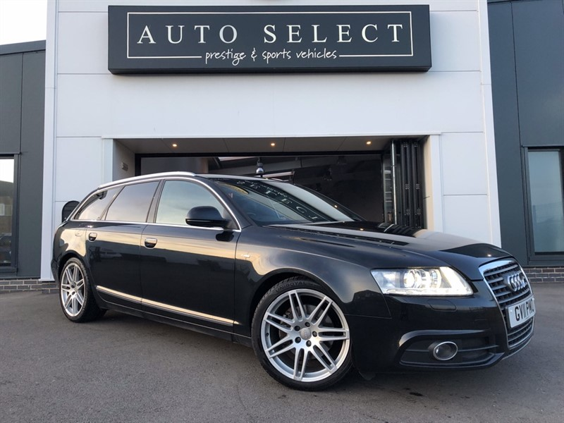 used Audi A6 Avant AVANT 2.0 TDI S LINE SPECIAL EDITION MASSIVE SPEC!! in chesterfield