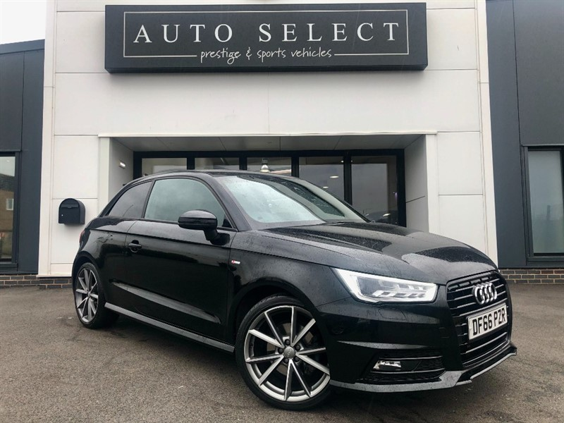 used Audi A1 1.6 TDI S LINE BLACK EDITION ONLY �20 TAX!! STUNNING CAR!! in chesterfield