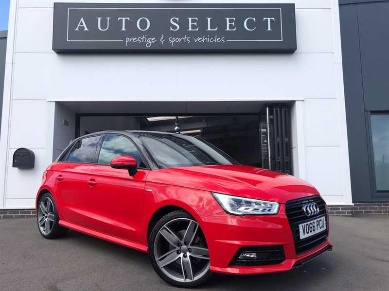 used Audi A1 SPORTBACK 1.4 TFSI S LINE BLACK EDITION!! NAV!! & PAN ROOF!! DESIGN PACK!! in chesterfield