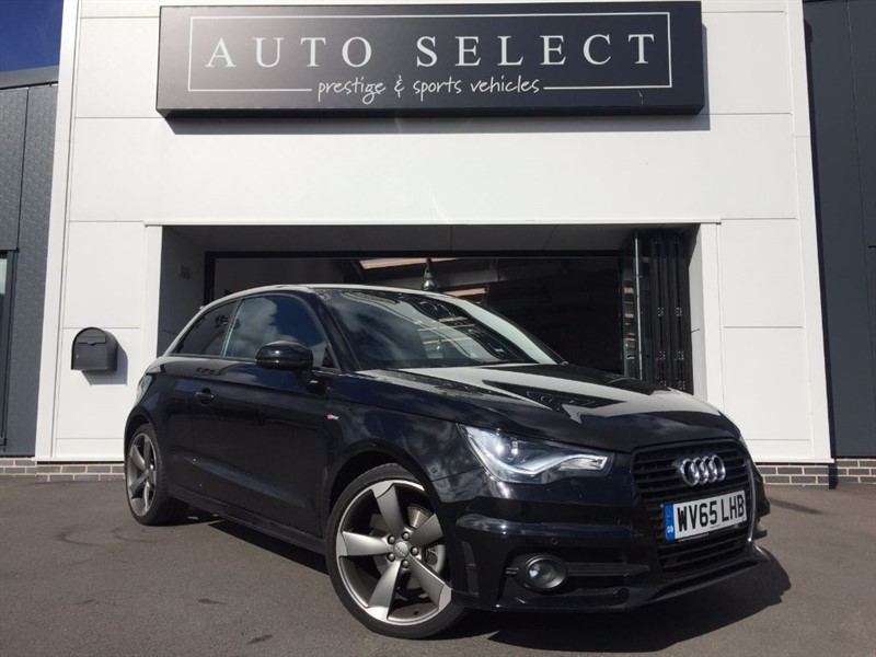 used Audi A1 1.4 TFSI S LINE BLACK EDITION MASSIVE SPEC!! NAVIGATION!! in chesterfield