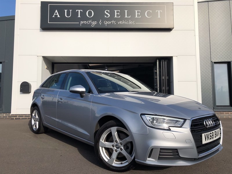 used Audi A3 SPORTBACK 1.0TFSI SPORT NAVIGATION & LEATHER!! in chesterfield