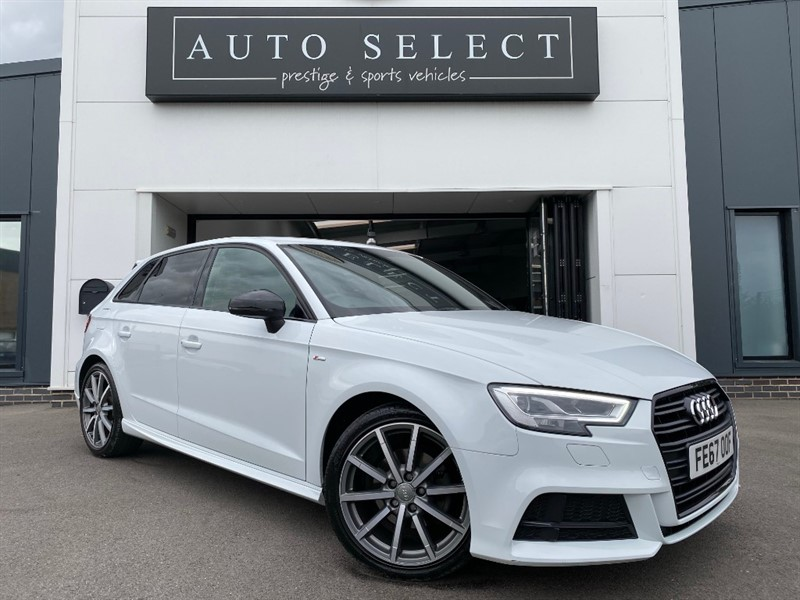used Audi A3 2.0 TDI S LINE BLACK EDITION NAVIGATION in chesterfield