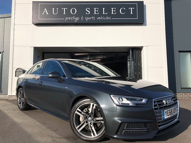 used Audi A4 2.0 TDI S LINE 190 BHP!! NAVIGATION!! in chesterfield
