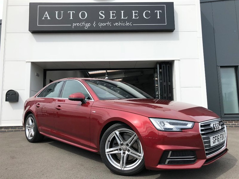 used Audi A4 2.0 TDI S LINE NAVIGATION £20 TAX!! in chesterfield